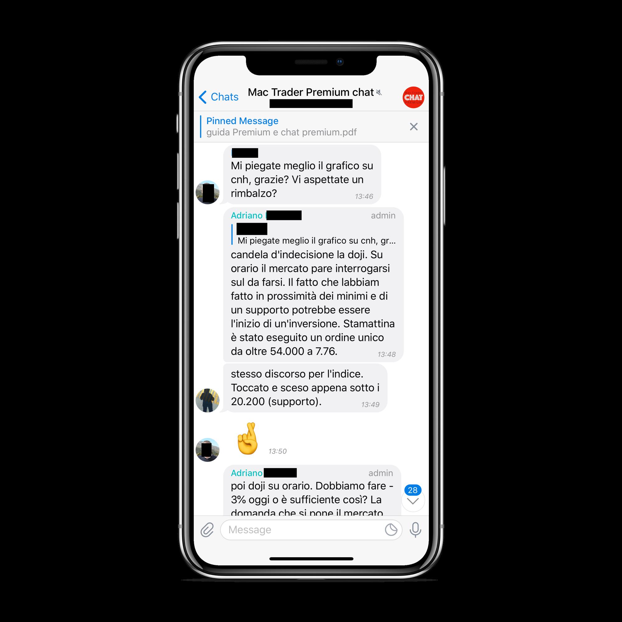 MAC Trader Premium Chat 10 Screenshot