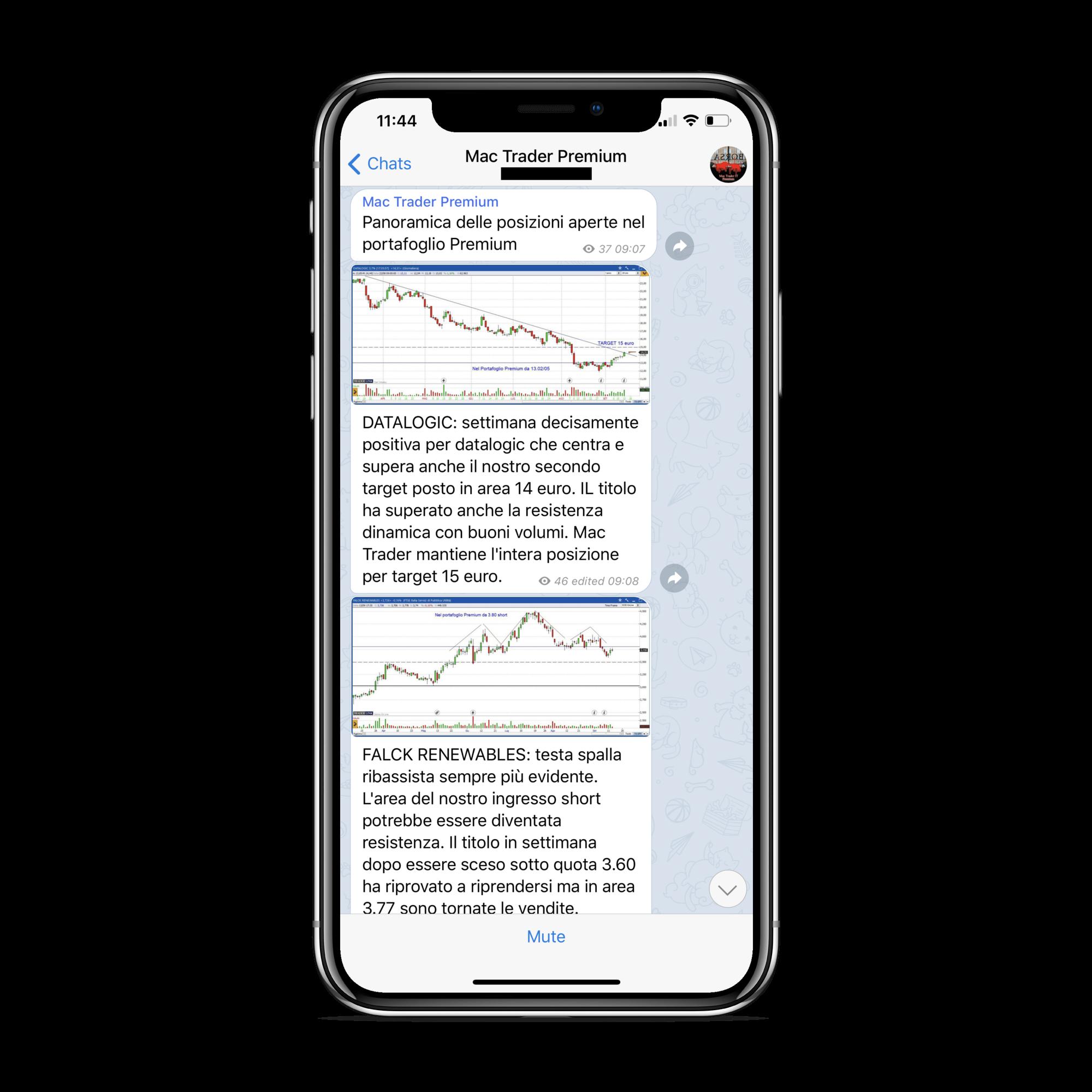 MAC Trader Premium Panoramica Screenshot